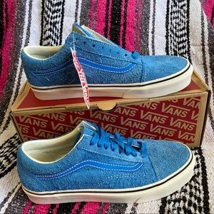 VANS Old Skool Hairy Suede Indigo Bunt